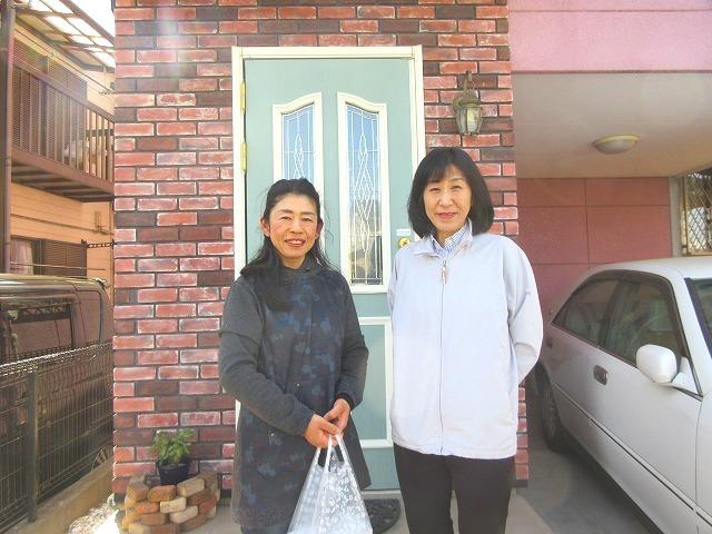 本日、葛飾区南水元のユーザー様のお宅に伺いまして一緒に写真を撮らせて頂きました~。