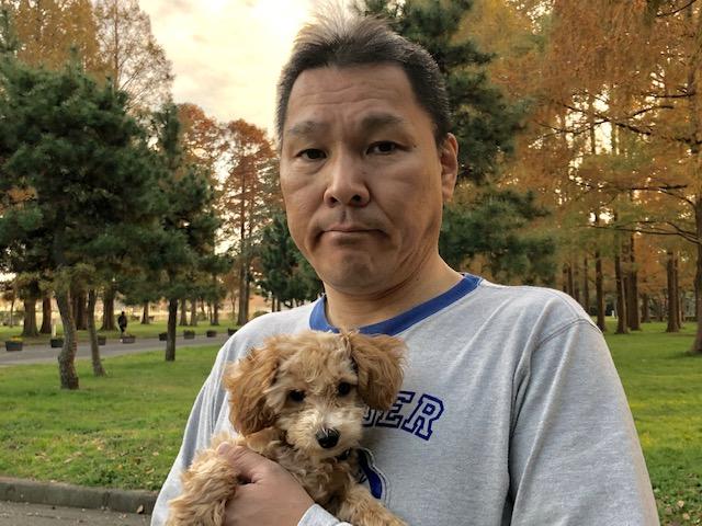 先日、愛犬孝太郎君と初めて都立水元公園に行って参りました~。